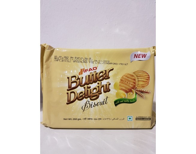IFAD Butter Delight Biscuit 260g